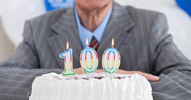 יום הולדת 100 שנים