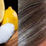 תשלבו יחד שמן קוקוס ומיץ לימון ותחזירו לשיערכם את צבעו הטבעי
