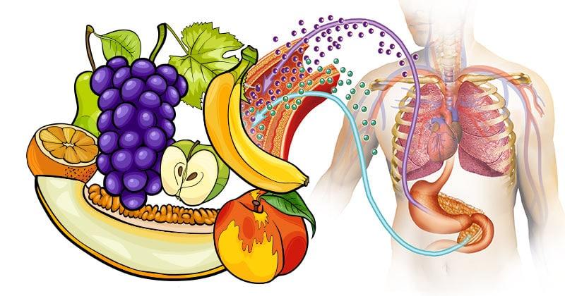 סוכרת, פירות