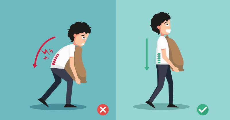 8 פעולות שגרתיות שמזיקות לעמוד השדרה שלכם