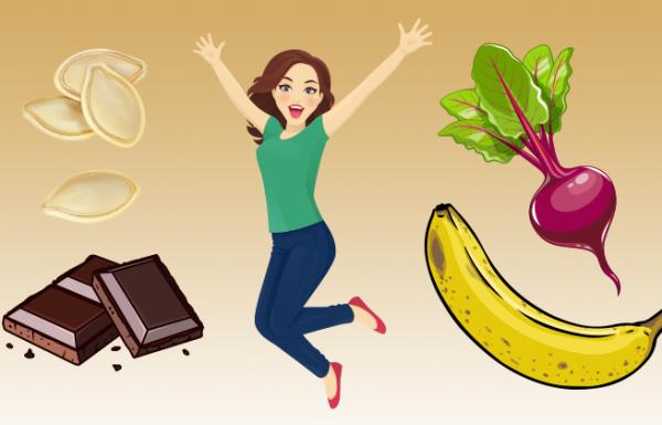 8 מאכלי על שיגרמו לכם להרגיש מלאי שמחת חיים
