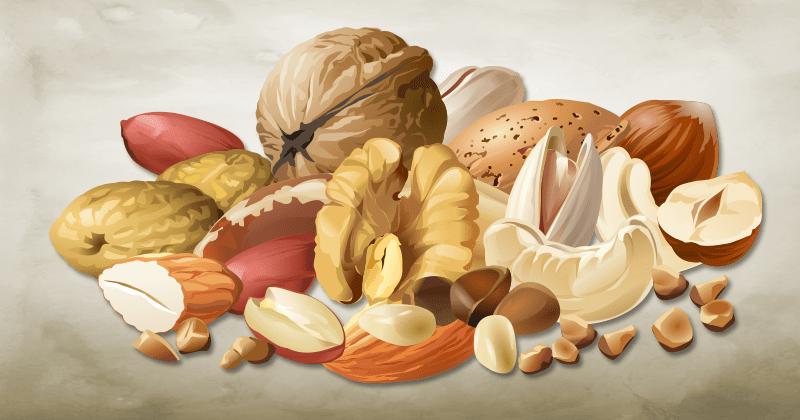 אגוזים מפחיתים בצורה משמעותית את הסיכון שלכם לחלות